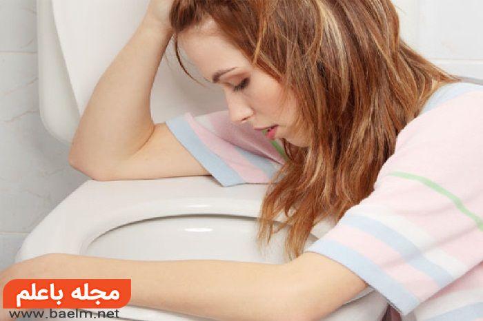 دلیل حالت تهوع,درمان حالت تهوع در صبحانه,رفع حالت تهوع پرخوری,حالت تهوع بعد از خوردن