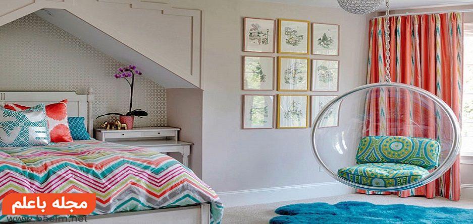 دکوراسیون - هشت ایده ساده و خلاقانه برای تزیین اتاق خواب دخترانه