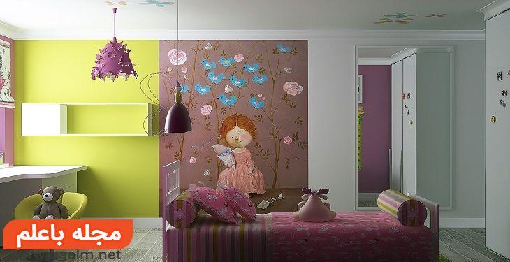 تاثیر نور و رنگ روی روحیه و احساسات کودک