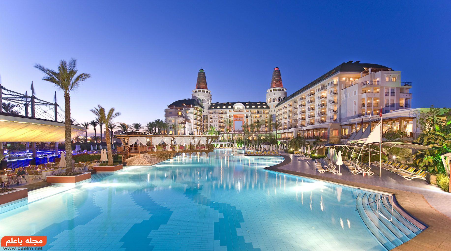 تور آنتالیا؛ استراحت کامل در لوکسترین هتلها با قیمت ارزان