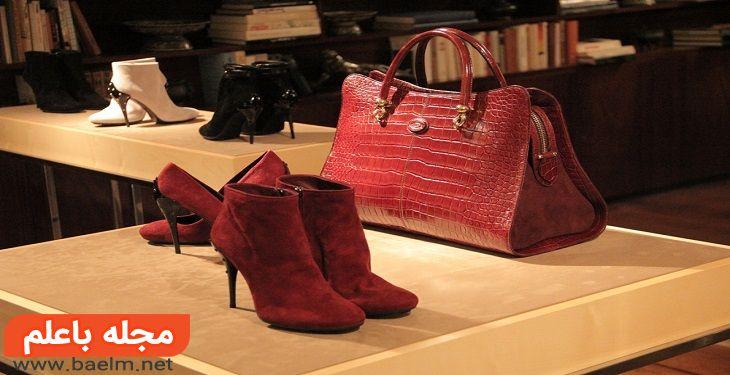 از کیف و کفشهای ناهمسان استفاده کنید