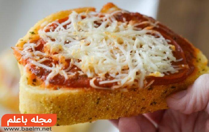 دستور تهیه نان سیر,طرز تهیه نان سیردار,نان سیر ایتالیایی