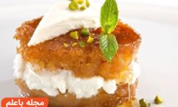شیرینی کادایف+خمیر کادایف+کیک کادایف+طرز تهیه کیک کادایف+انواع دسر