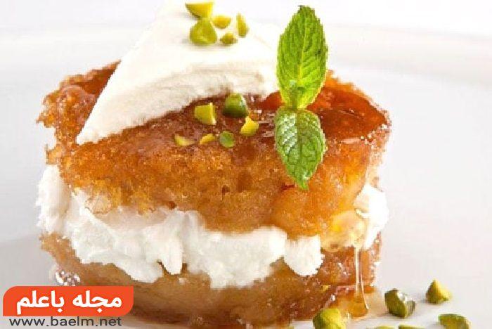 طرز تهیه کیک کادایف,انواع کیک،آموزش پخت کیک خانگی،آموزش انواع شیرینی