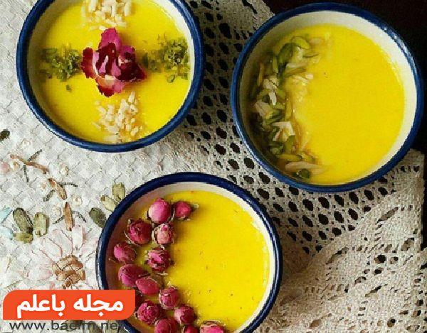 روش تهیه حلوا کاسه ی شیرازی,حلوای کاسه شیرازی با آرد برنج,طرز تهیه حلوا کاسه