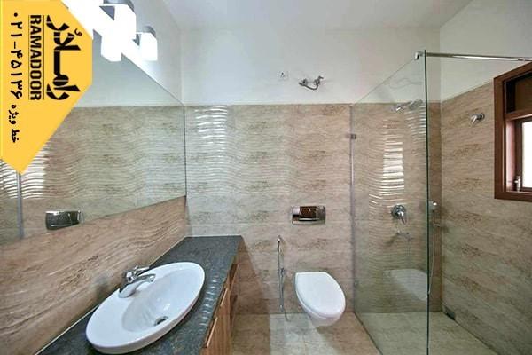 استفاده از شیشه های لاکوبل و شیشه های رنگی برای فضاهای داخلی