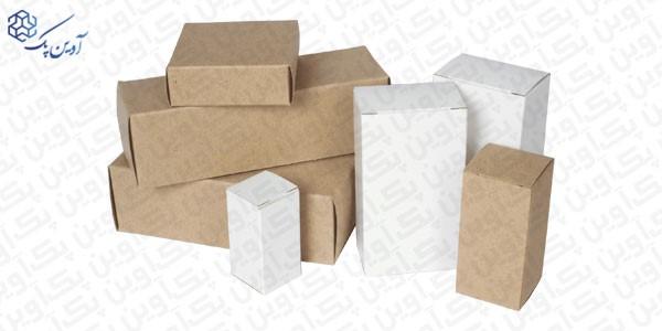 کارتن پستی استاندارد - ویژگی های کارتن پستی استاندارد