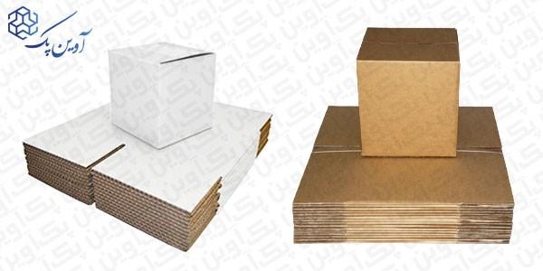 برای تولید و ساخت کارتنهای پستی ابعاد متداولی وجود دارد